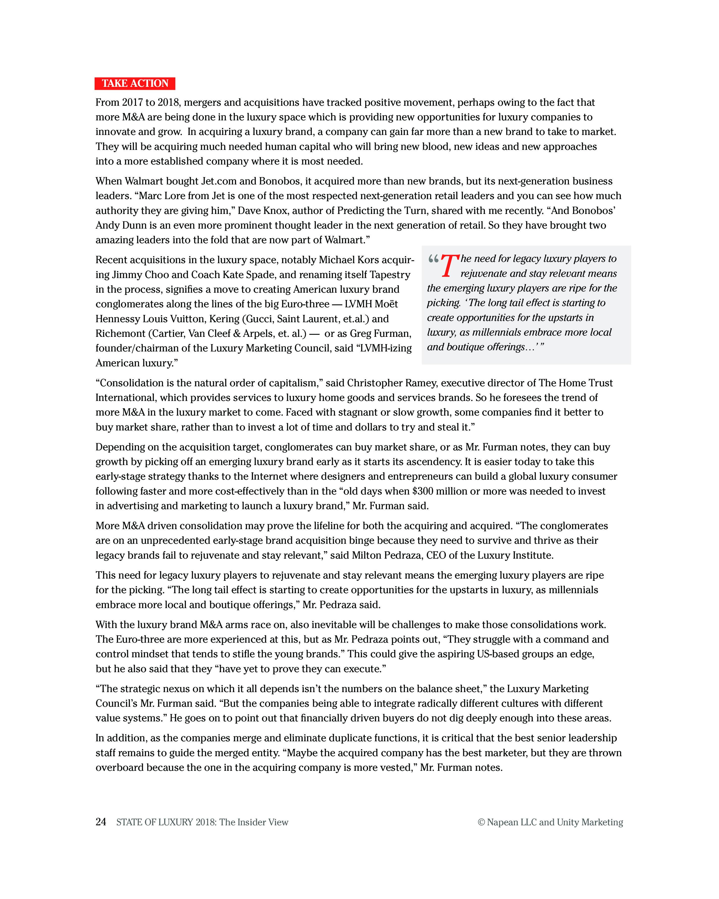 Luxury Daily:2018年奢侈品报告