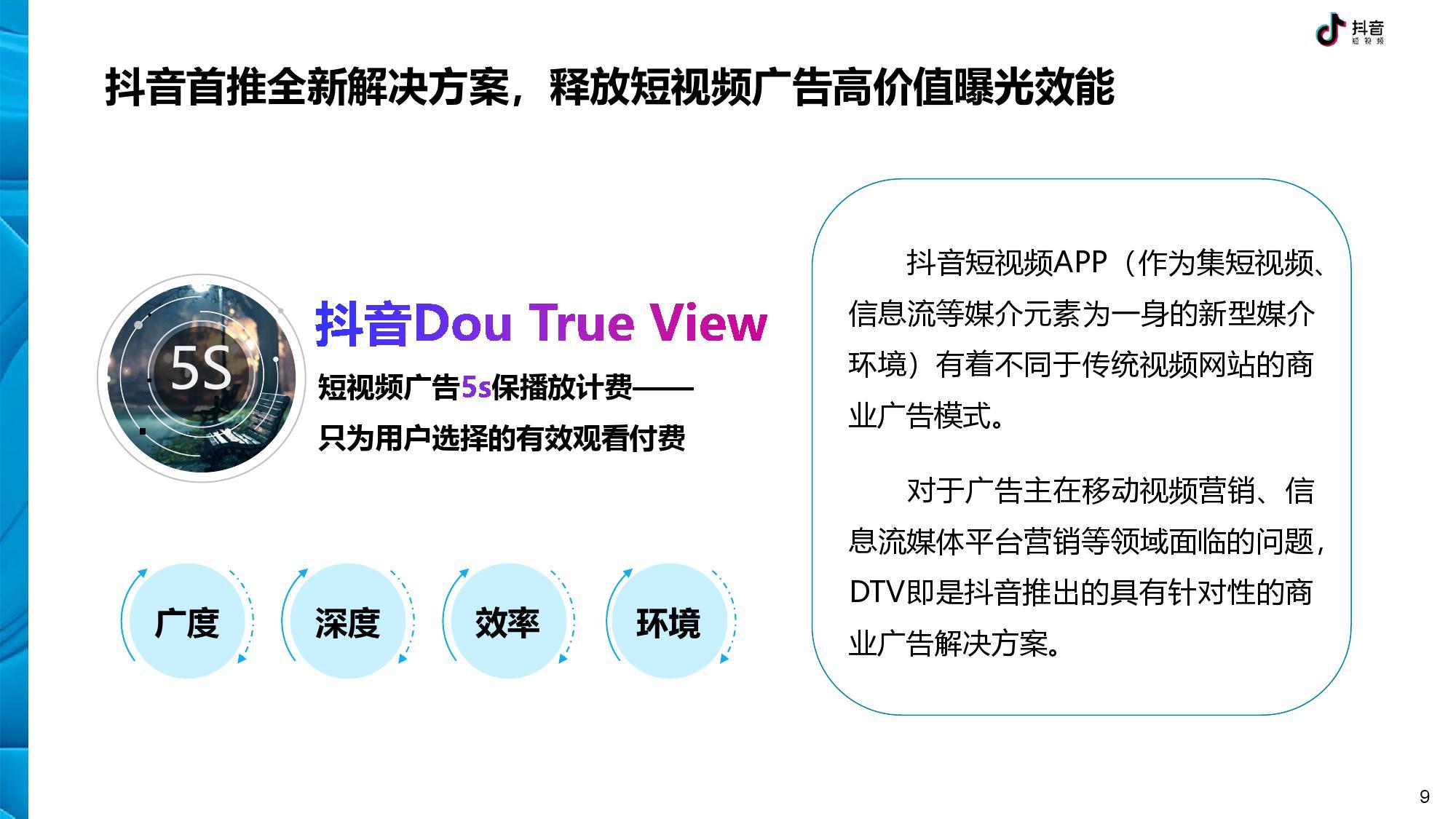 抖音 DTV 广告营销价值白皮书-CNMOAD 中文移动营销资讯 9