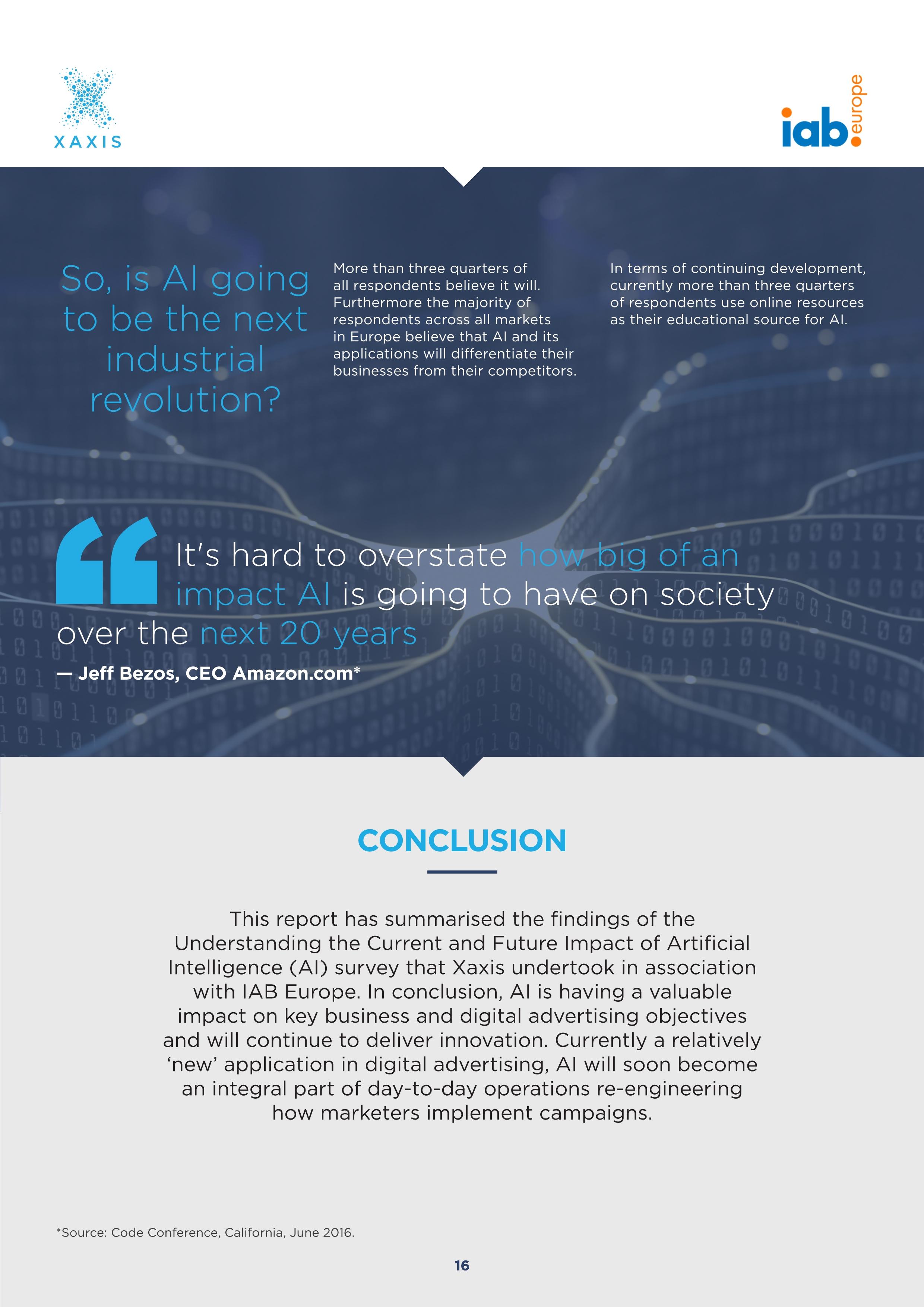 人工智能报告:网络广告世界的神话与现实