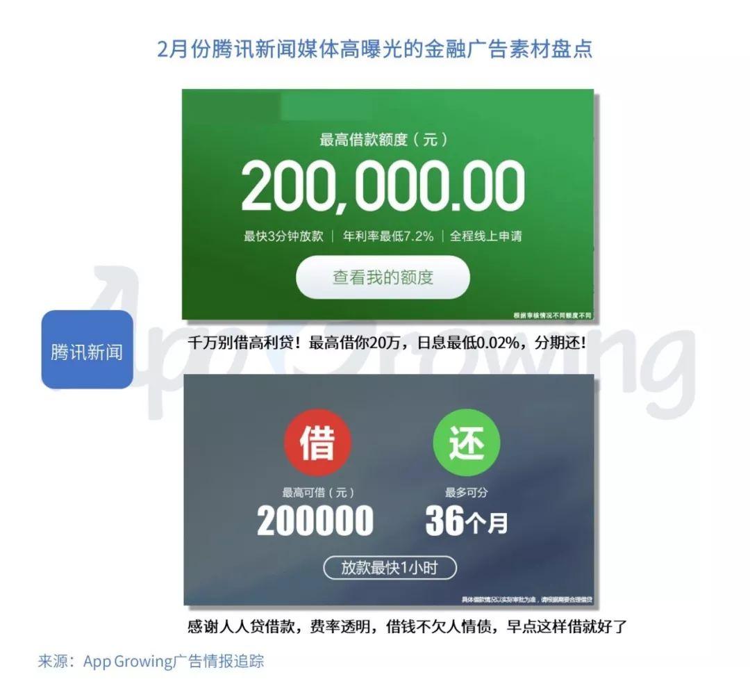 App Growing:2019年2月份金融行业 App 移动广告投放分析-CNMOAD 中文移动营销资讯 7