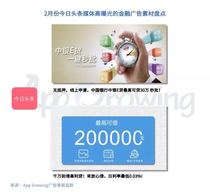 App Growing:2019年2月份金融行业 App 移动广告投放分析-CNMOAD 中文移动营销资讯 10