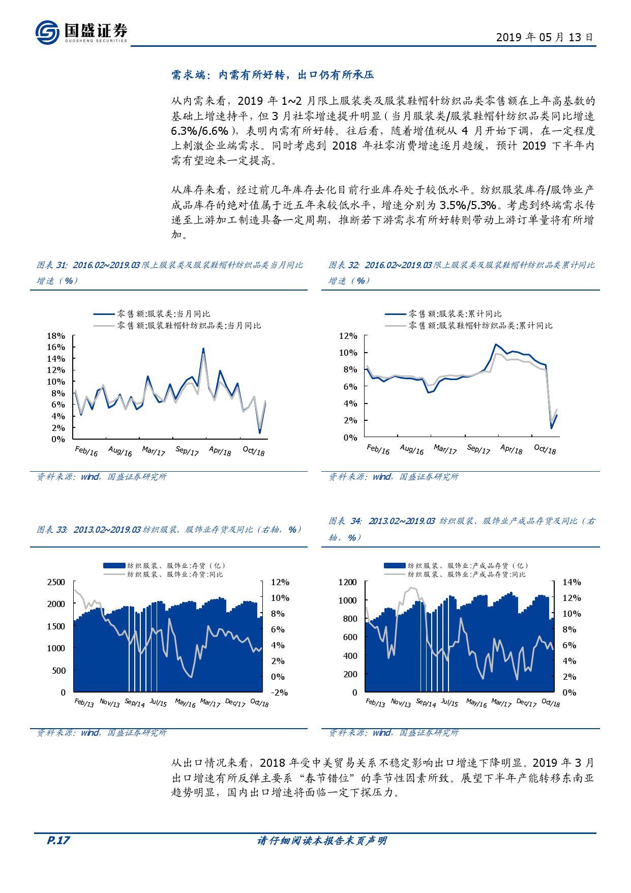 国盛证券:2019时尚消费中期策略(199it)