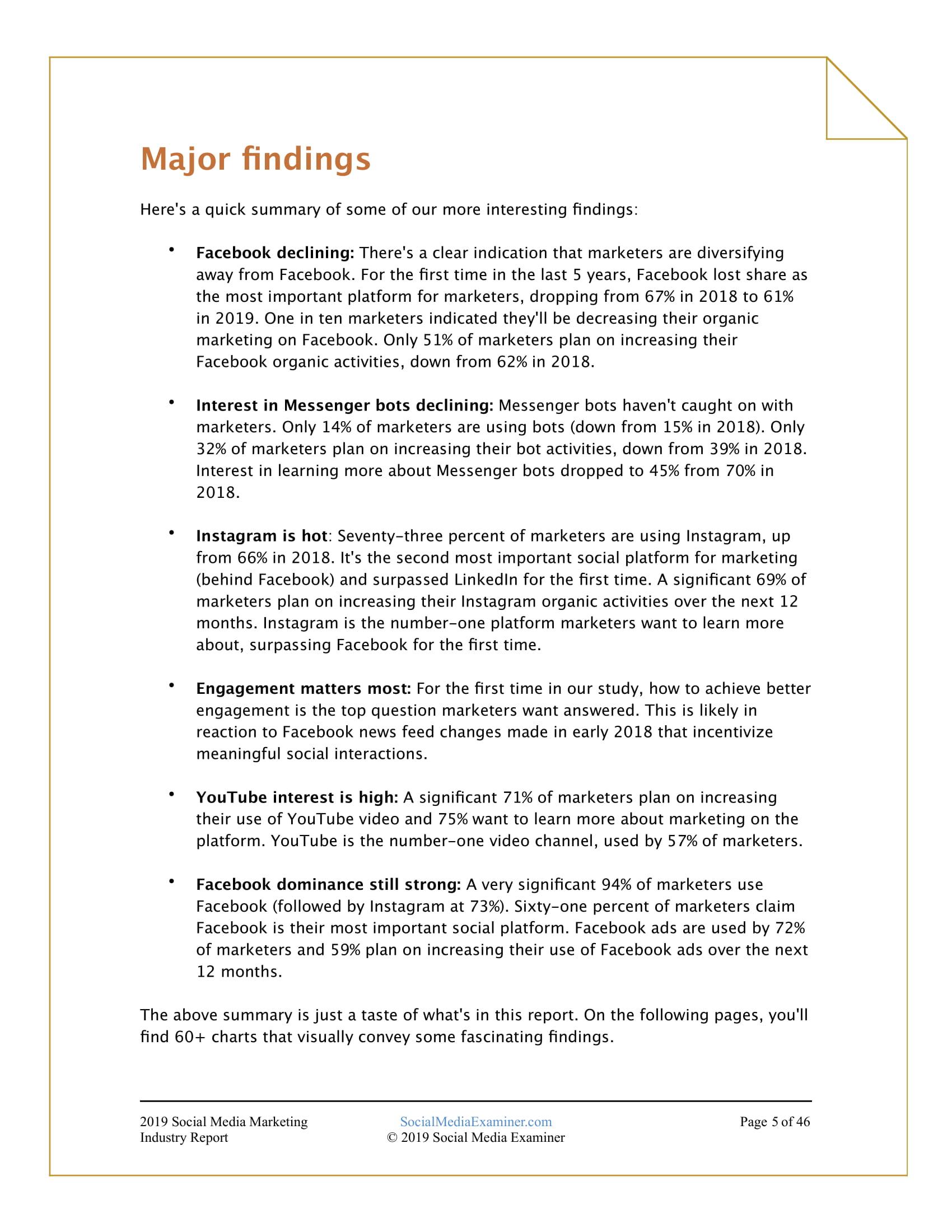 SME:2019年社交媒体营销行业报告-CNMOAD 中文移动营销资讯 5