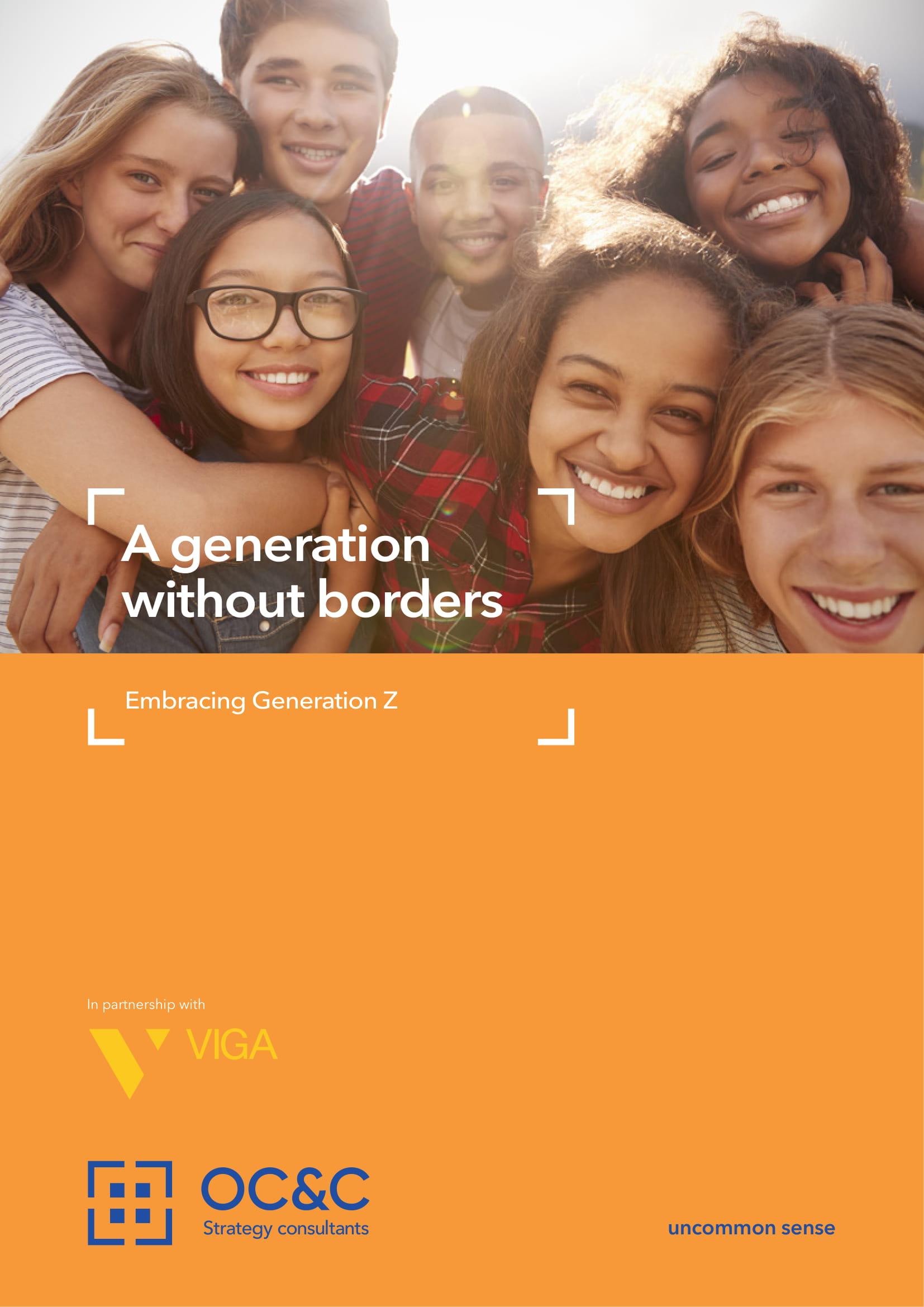 Z世代报告:无界限的一代