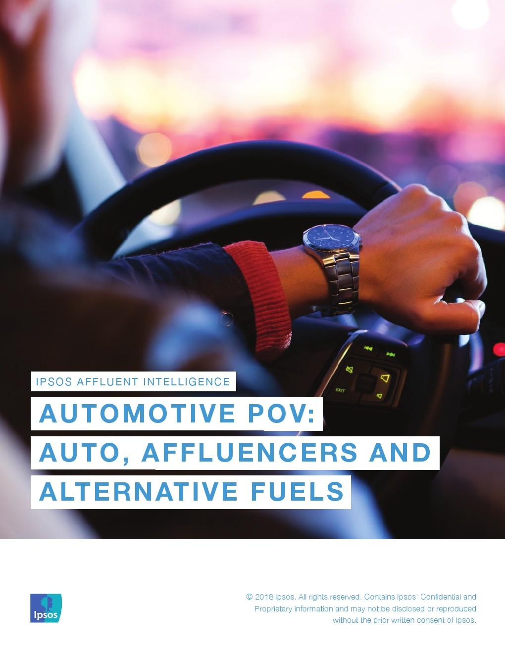 益普索:美国富裕人口与汽车订购服务