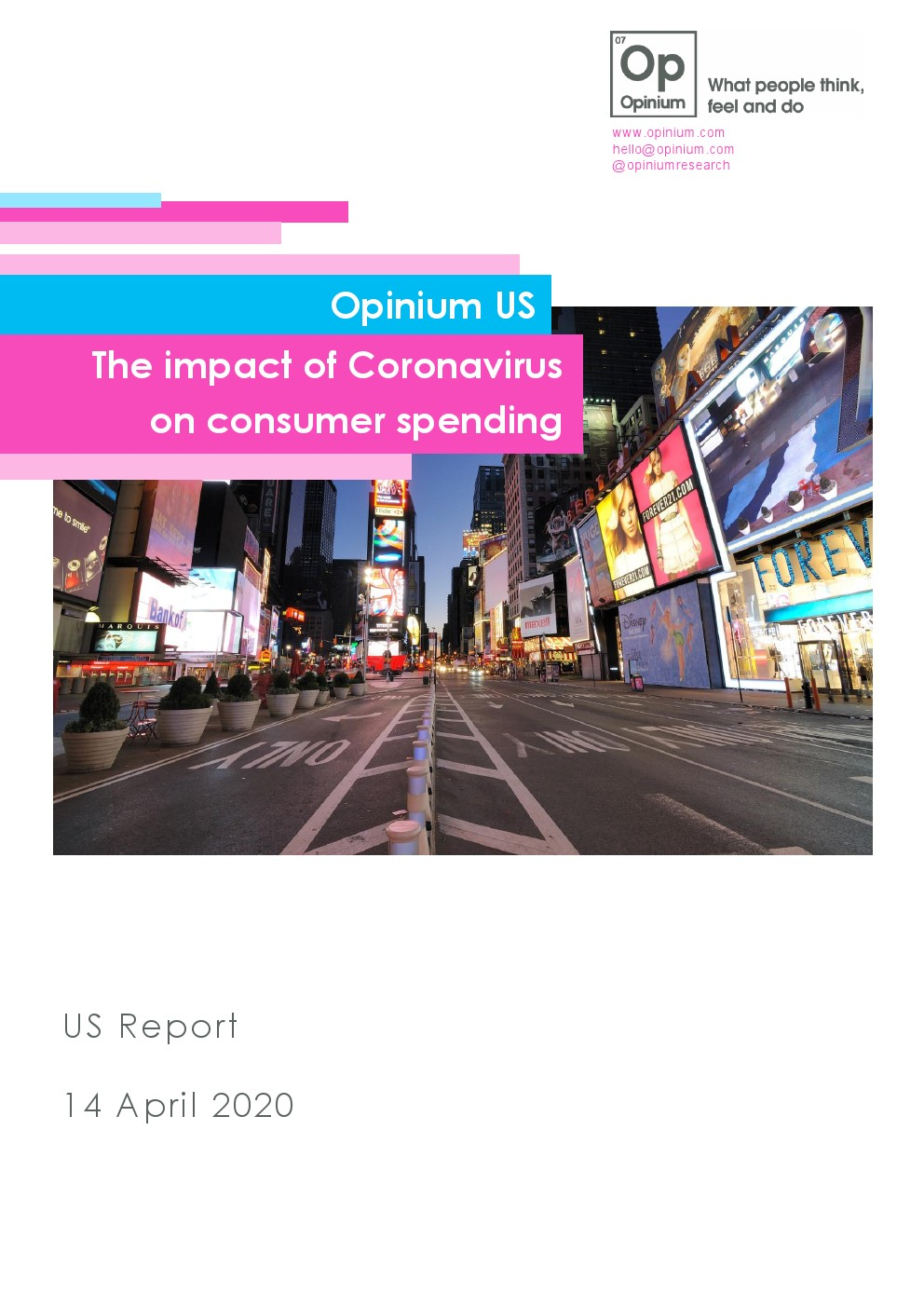 Opdium:一半的美国消费者因病毒流行计划削减支出