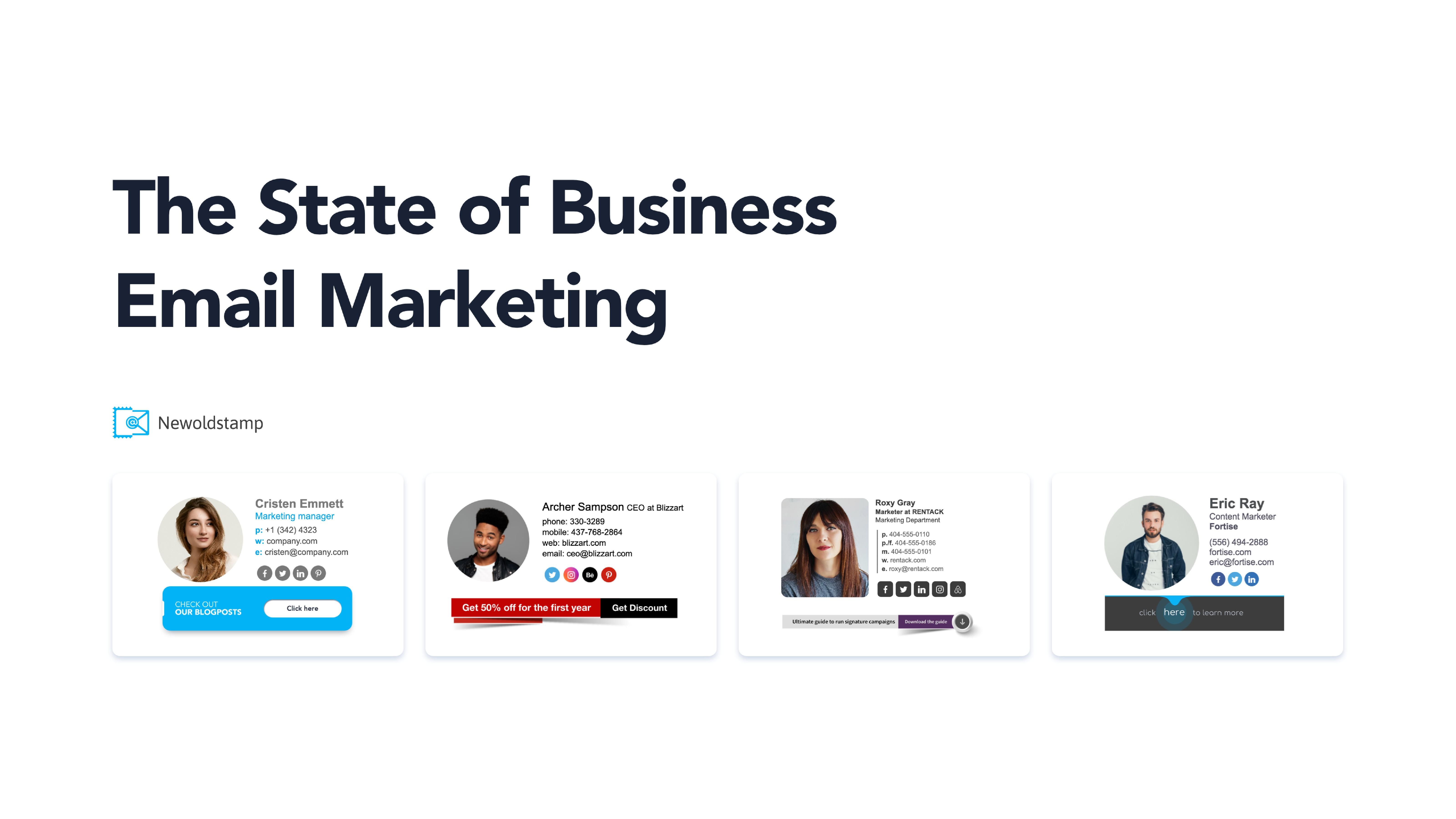NewoldStamp:商务电子邮件营销报告