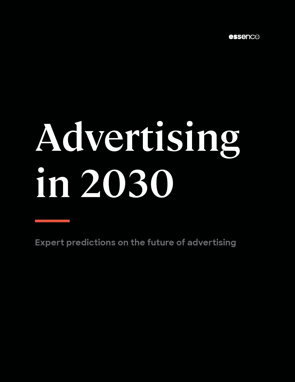 2030年的广告业:专家对未来广告业的预测