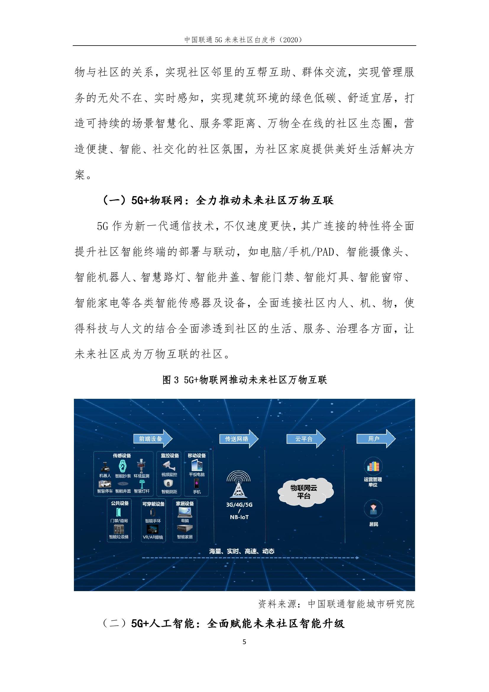 This image has an empty alt attribute; its file name is 2020年中国联通5G未来社区白皮书_000011.jpg