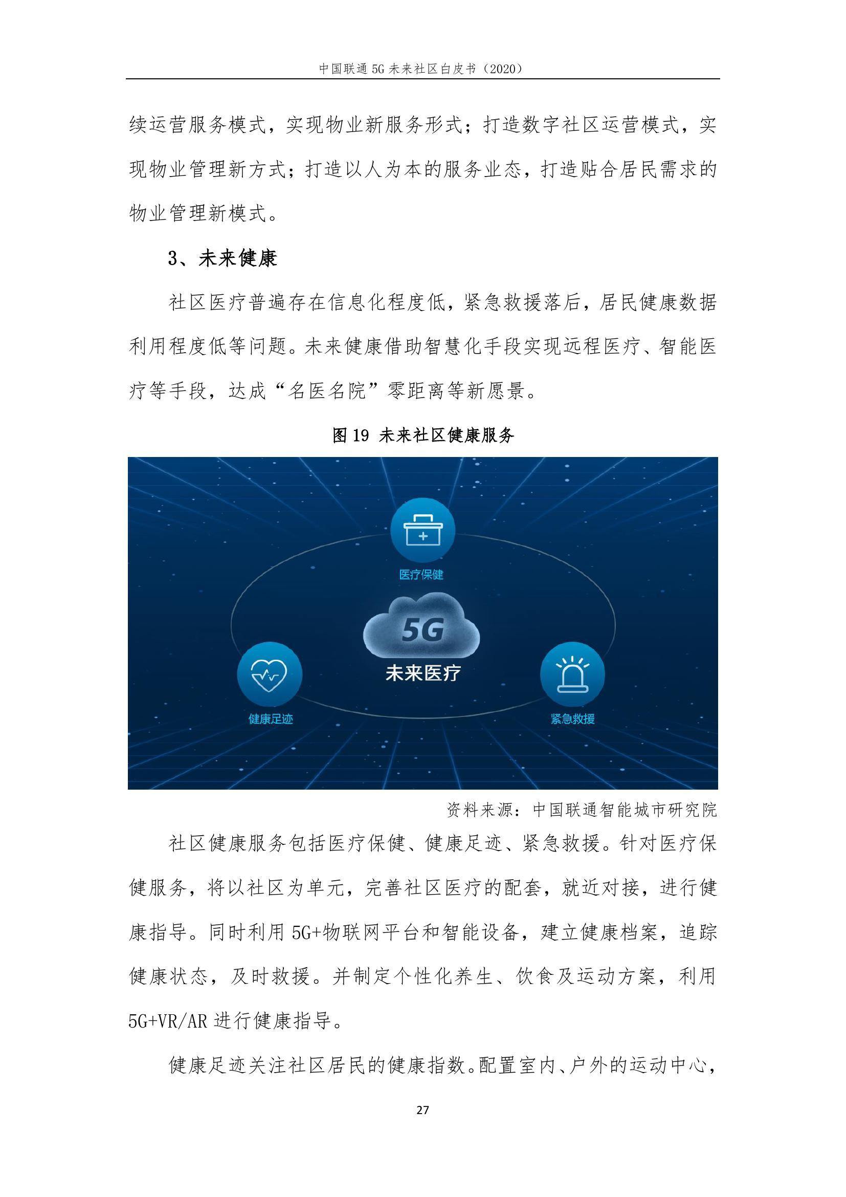 This image has an empty alt attribute; its file name is 2020年中国联通5G未来社区白皮书_000033.jpg