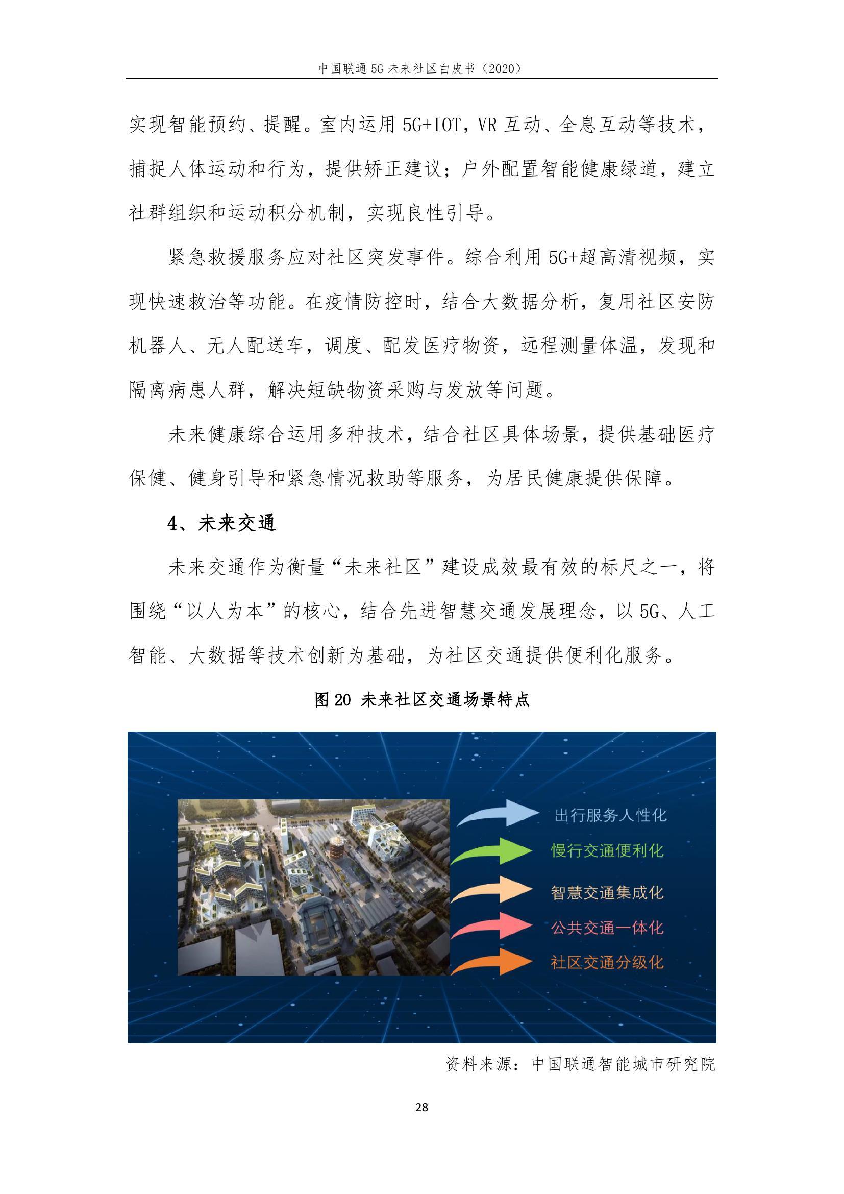 This image has an empty alt attribute; its file name is 2020年中国联通5G未来社区白皮书_000034.jpg