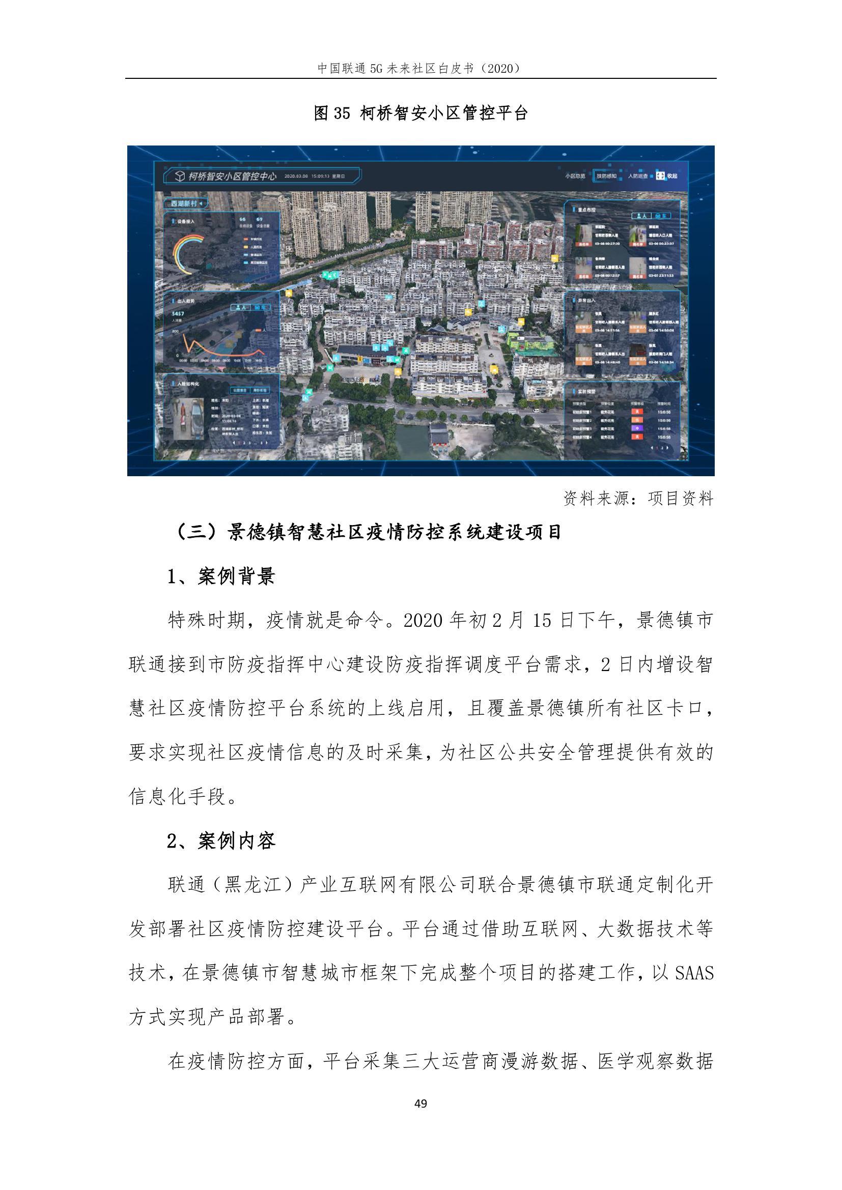 This image has an empty alt attribute; its file name is 2020年中国联通5G未来社区白皮书_000055.jpg