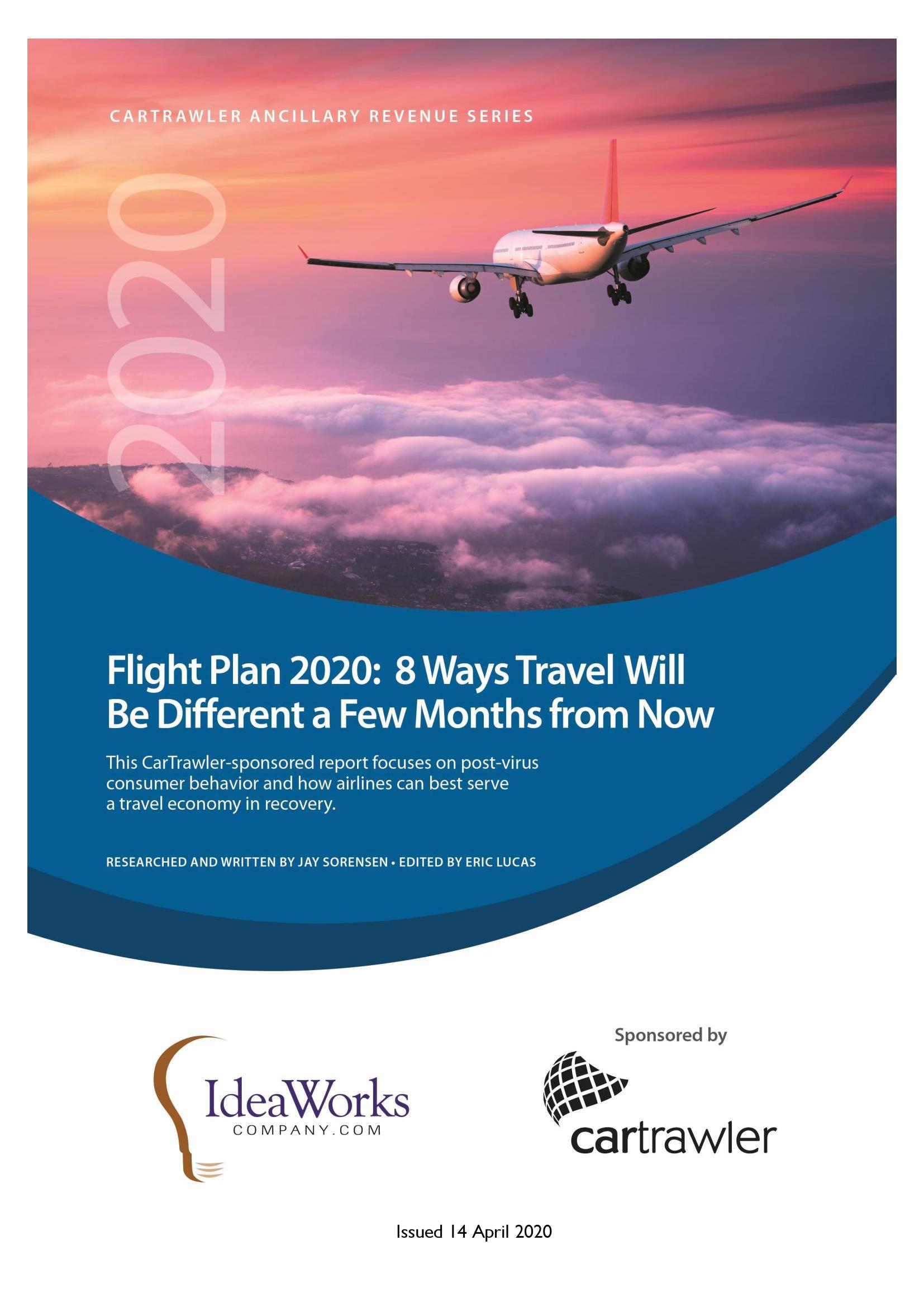 2020航空计划:未来几个月内旅游行业的8大变化趋势报告