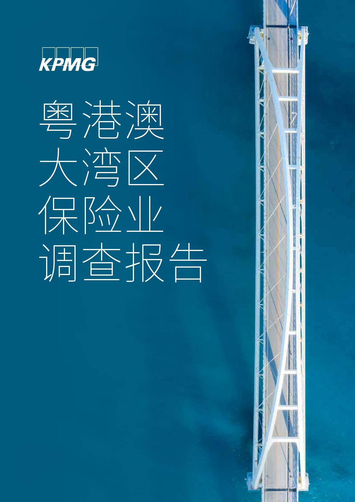 毕马威:粤港澳大湾区保险业调查报告