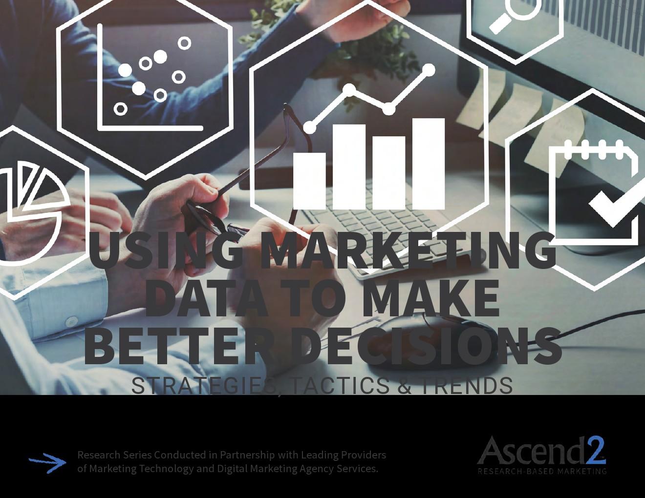 Ascend2:利用营销数据制定更好的决策报告