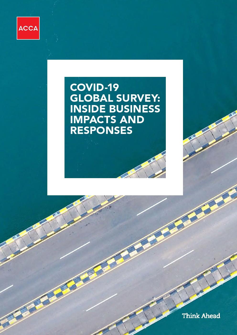 COVID-19全球调查报告:对内部业务的影响