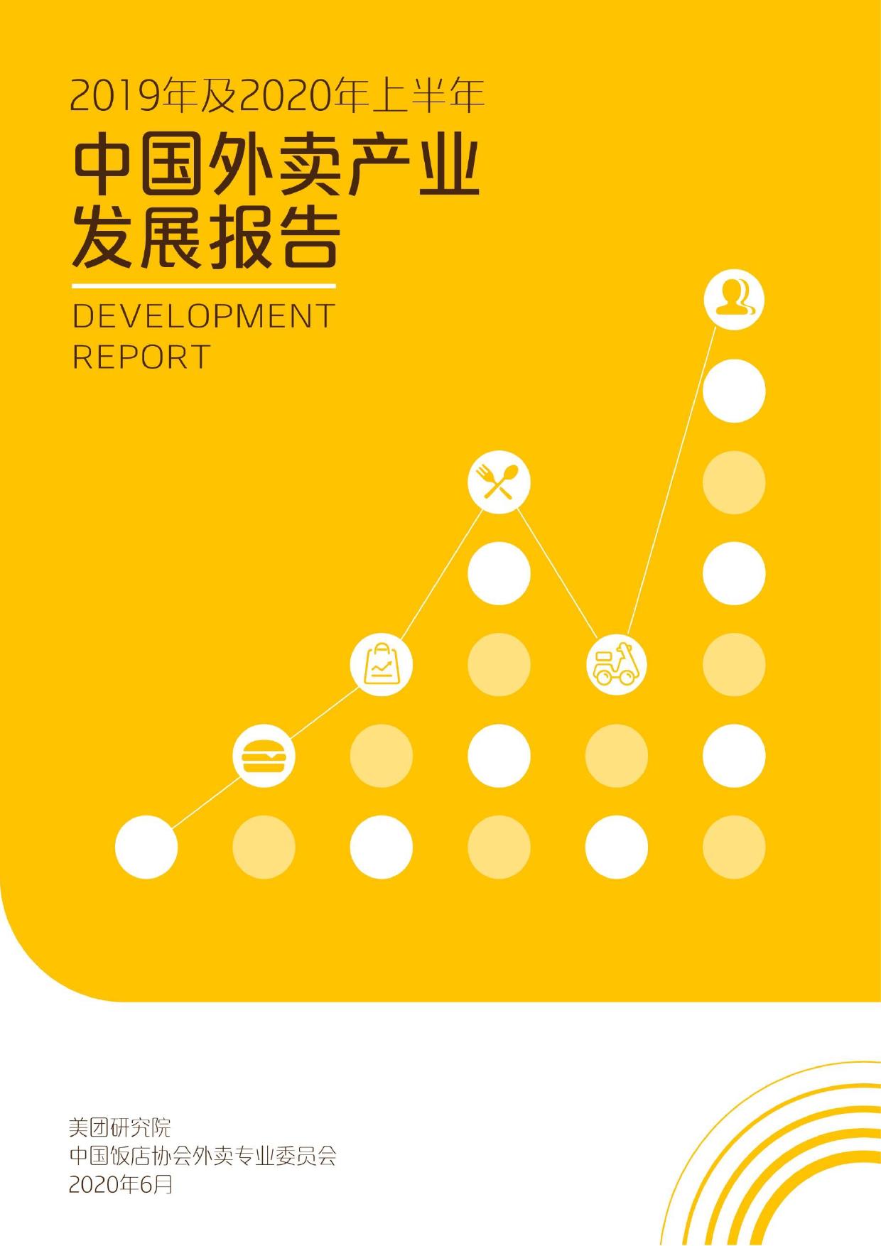 美团研究院:2019年及2020年上半年中国外卖产业发展报告(附下载)