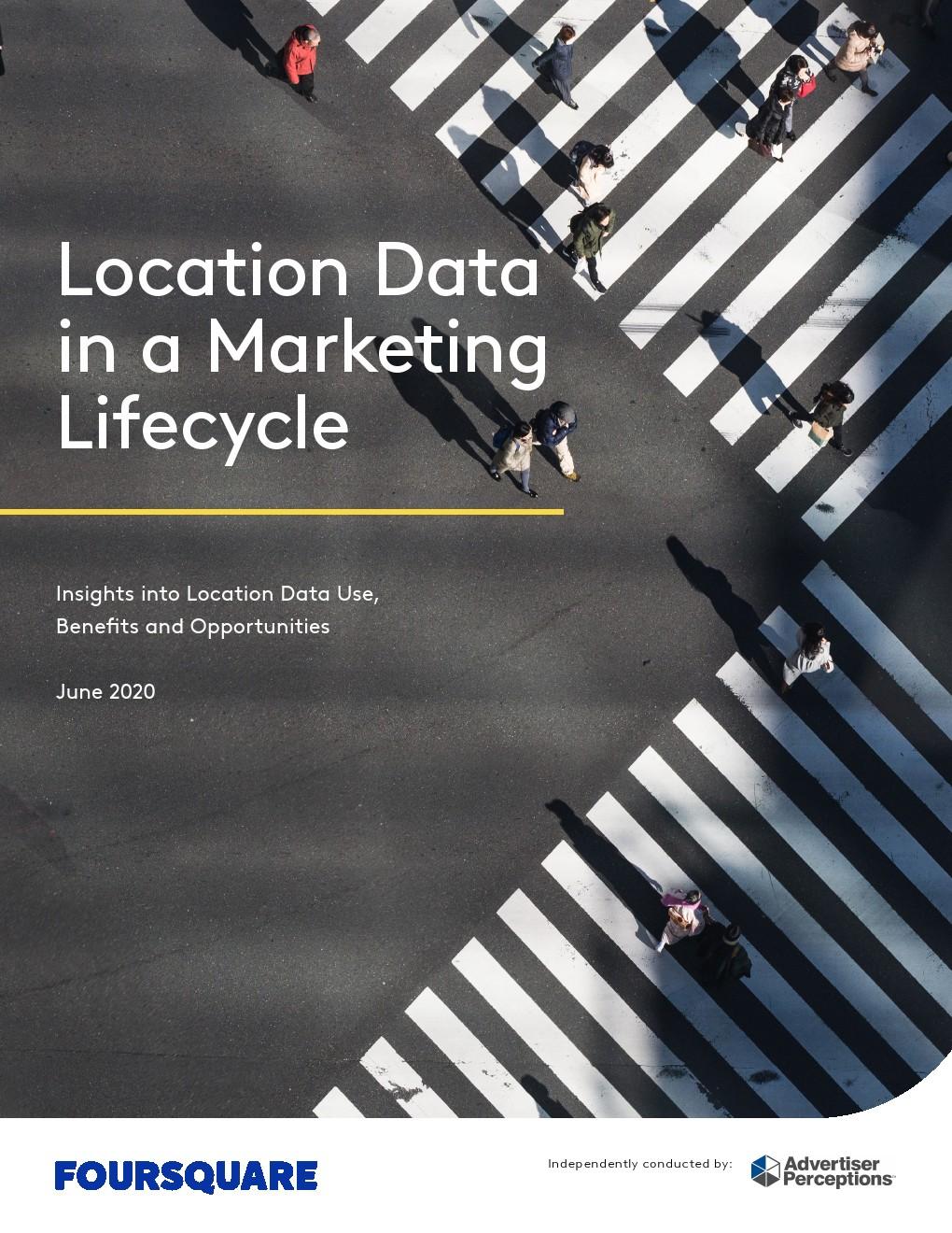 FourSquare:营销生命周期中的位置数据