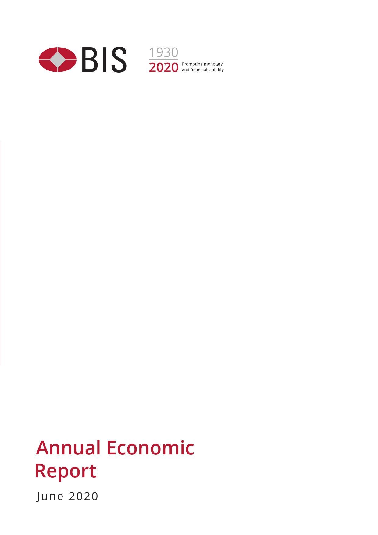 BIS:2020全球年度宏观经济报告(附下载)