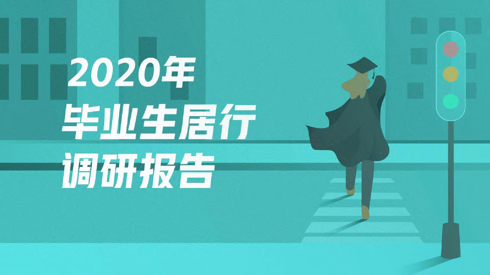 58安居客房产研究院:2020年毕业生调研报告(附下载)