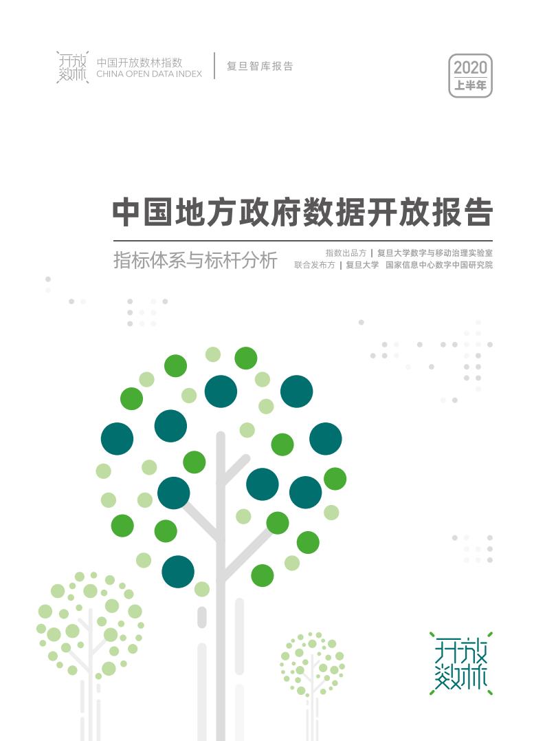 复旦DMG:2020中国地方政府数据开放报告