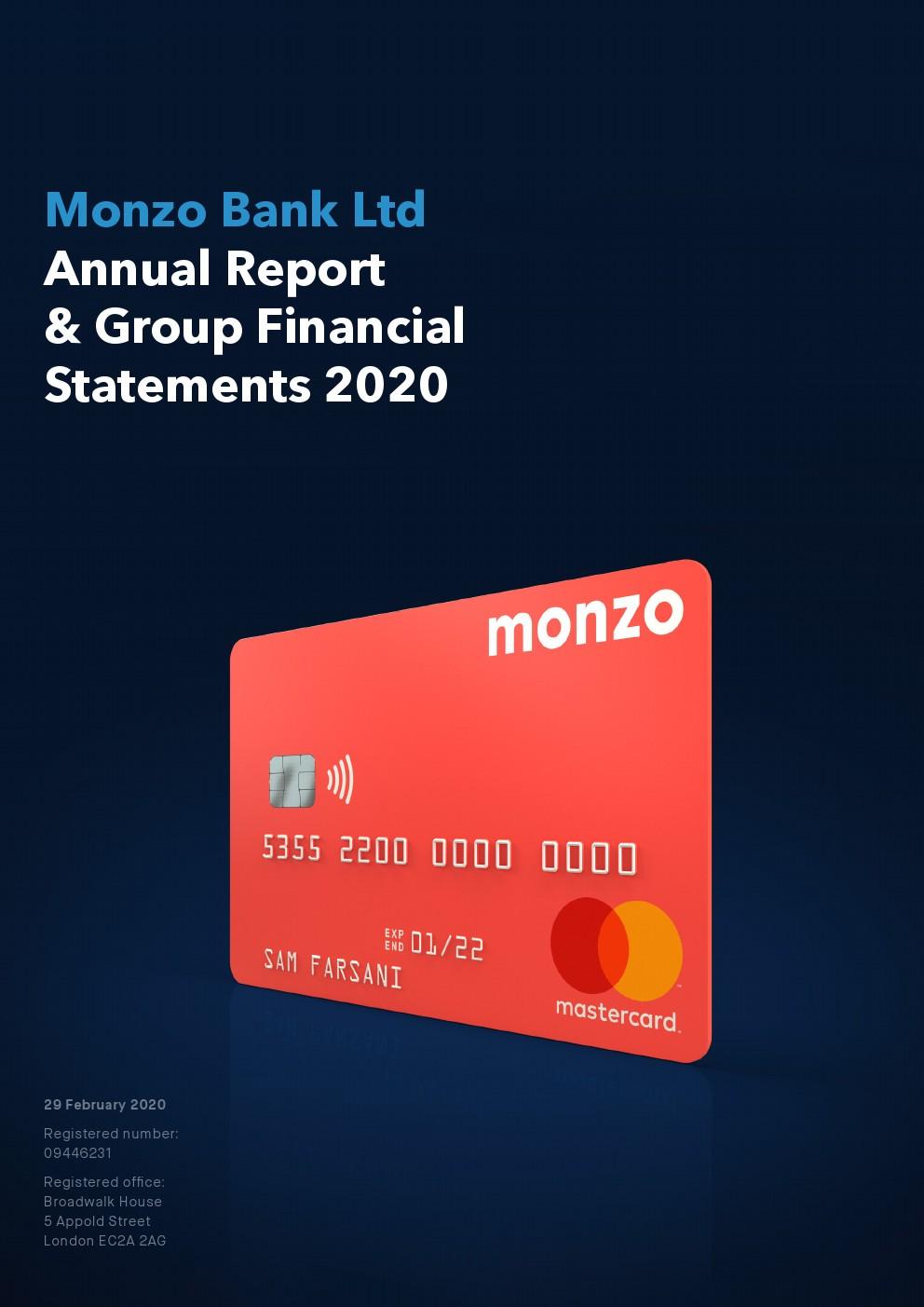 2020年Monzo英国移动银行报告