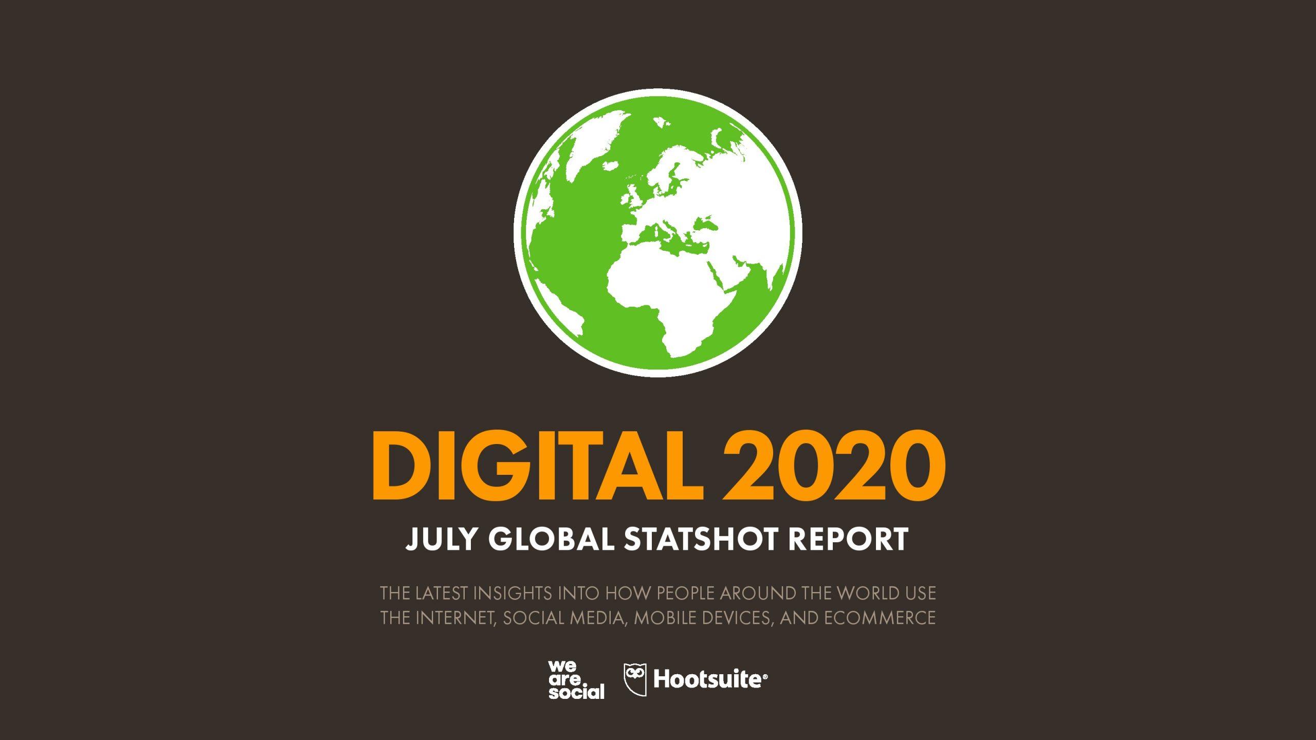 We Are Social:2020年7月全球网络状态报告(186页)