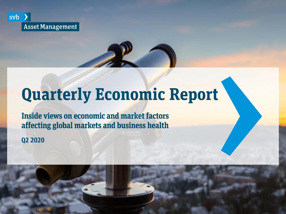 SVB:2020年第二季度全球经济报告(附英文版下载)