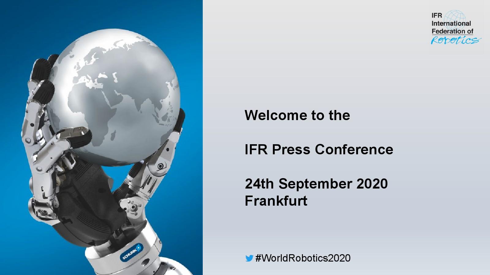 国际机器人联合会:2020年全球工业机器人报告