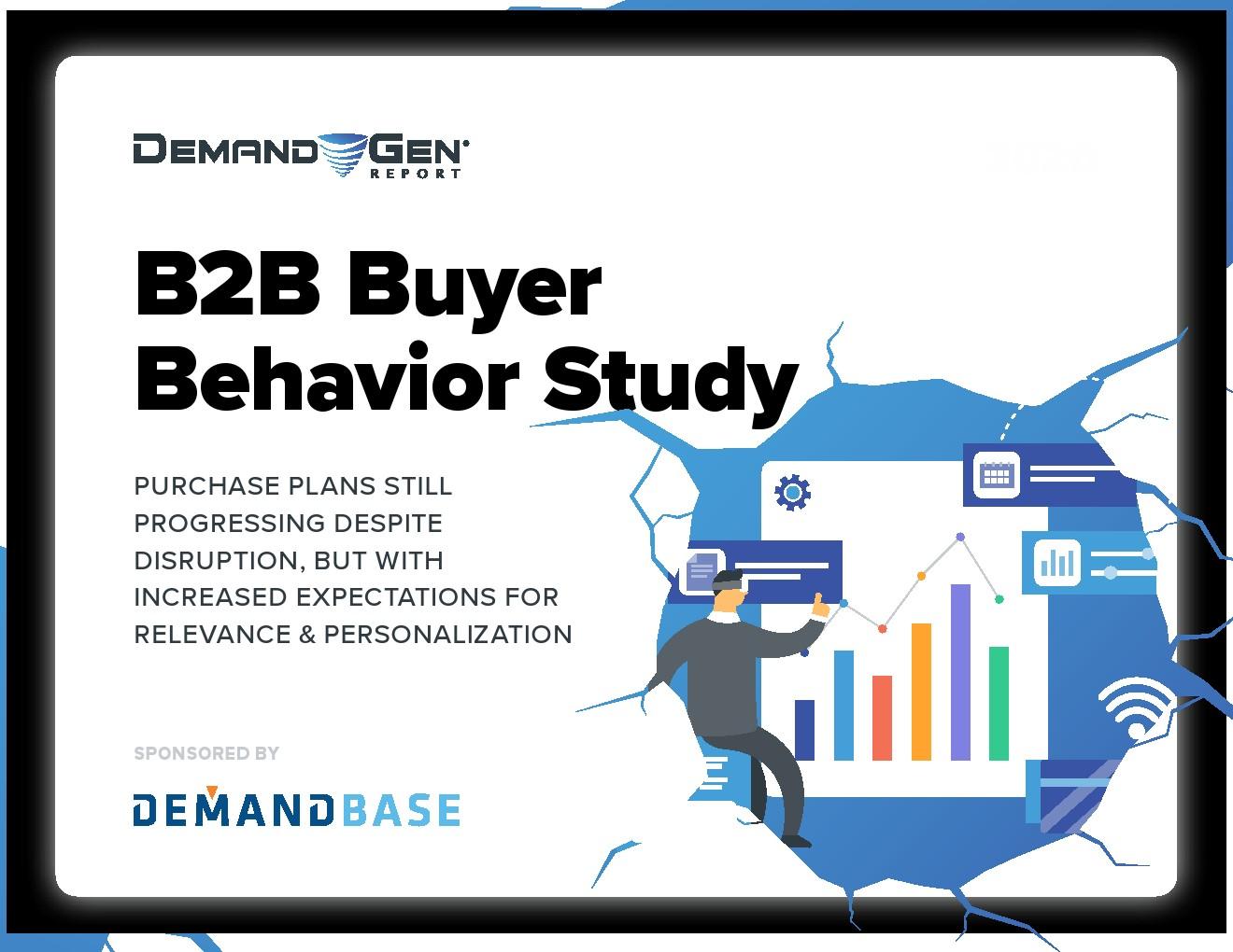 DemandGen:B2B买家行为调查报告