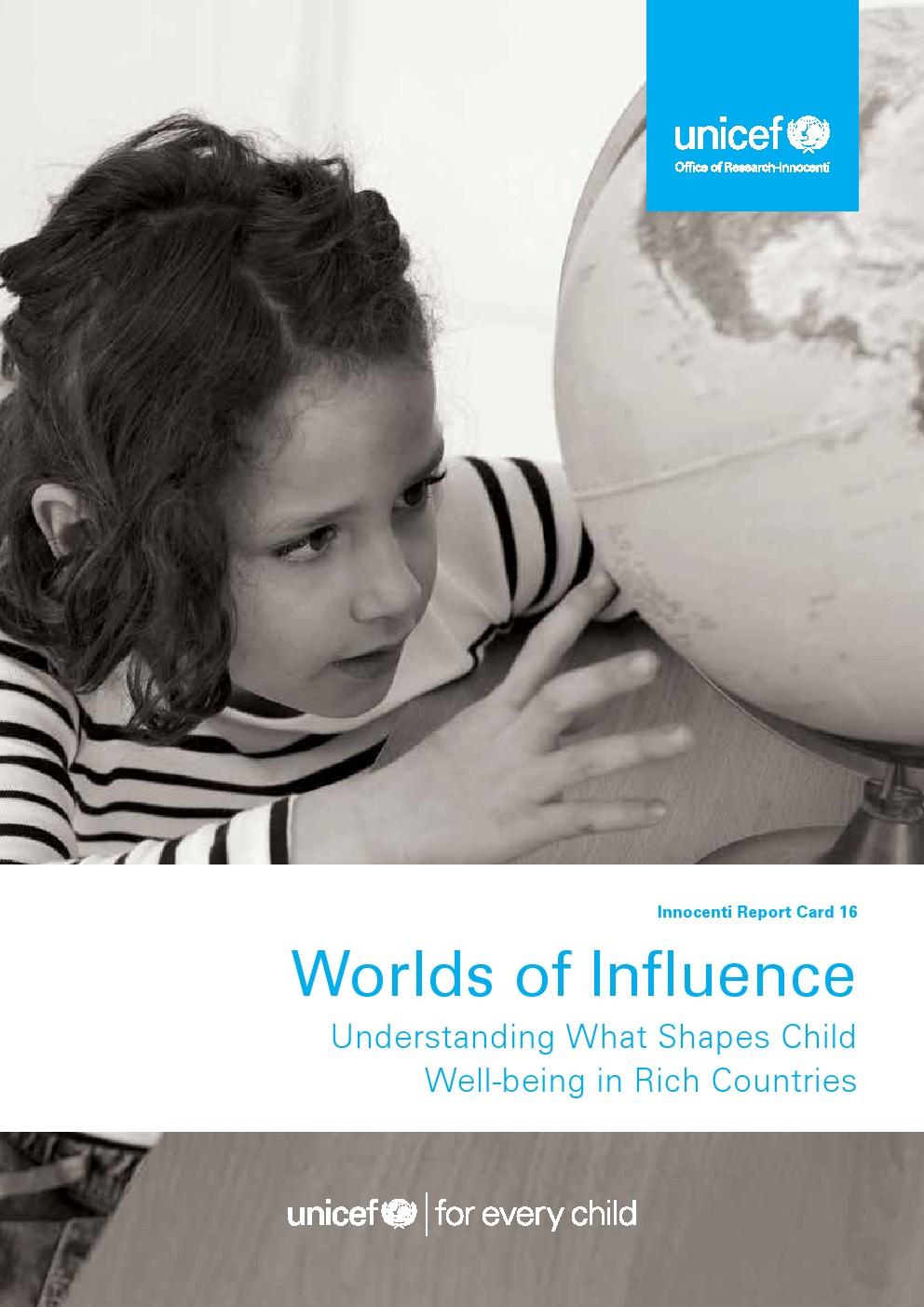 影响世界:了解富国儿童幸福的构成报告
