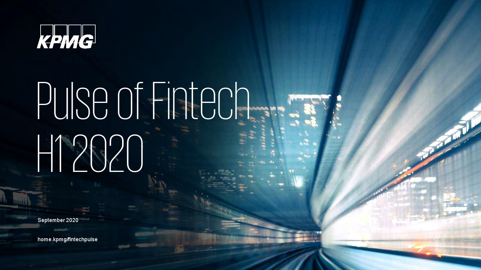毕马威:2020上半年金融科技脉搏报告
