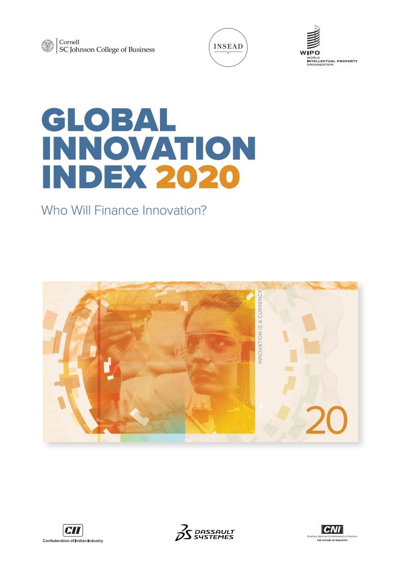 WIPO:2020年版全球创新指数(GII)报告(448页)