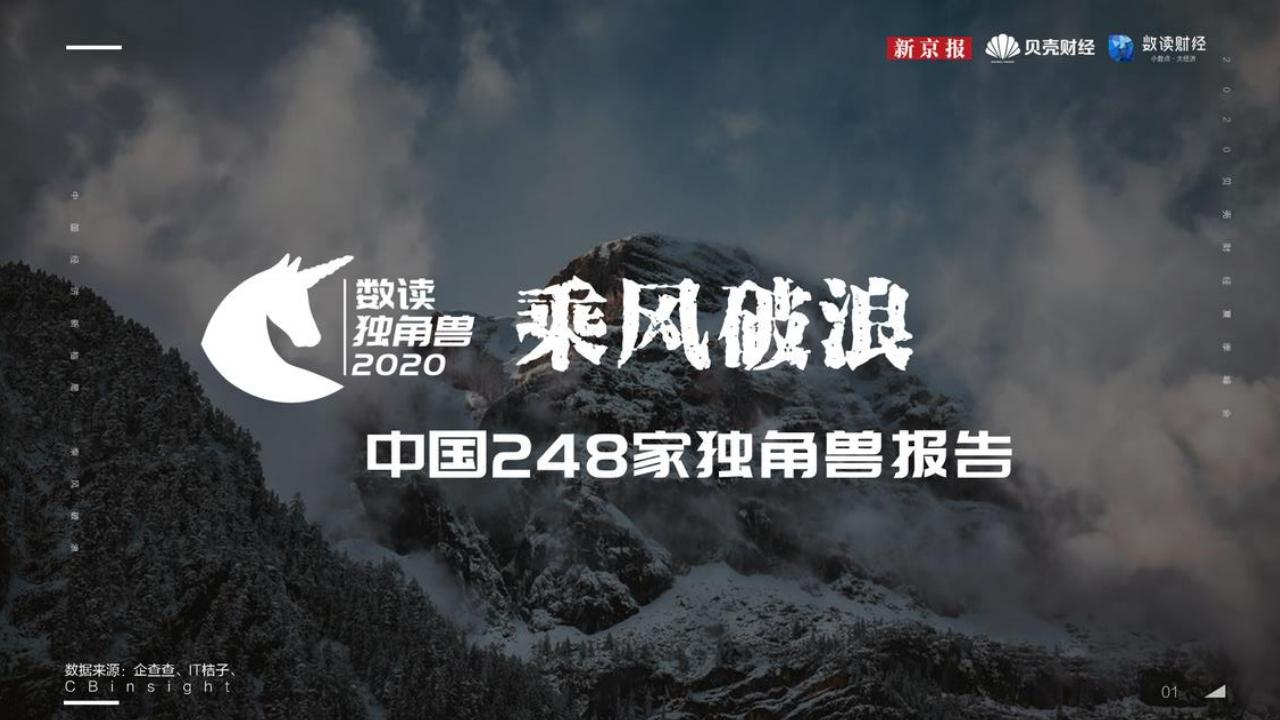 新京报&贝壳财经:中国248家独角兽报告(附下载)