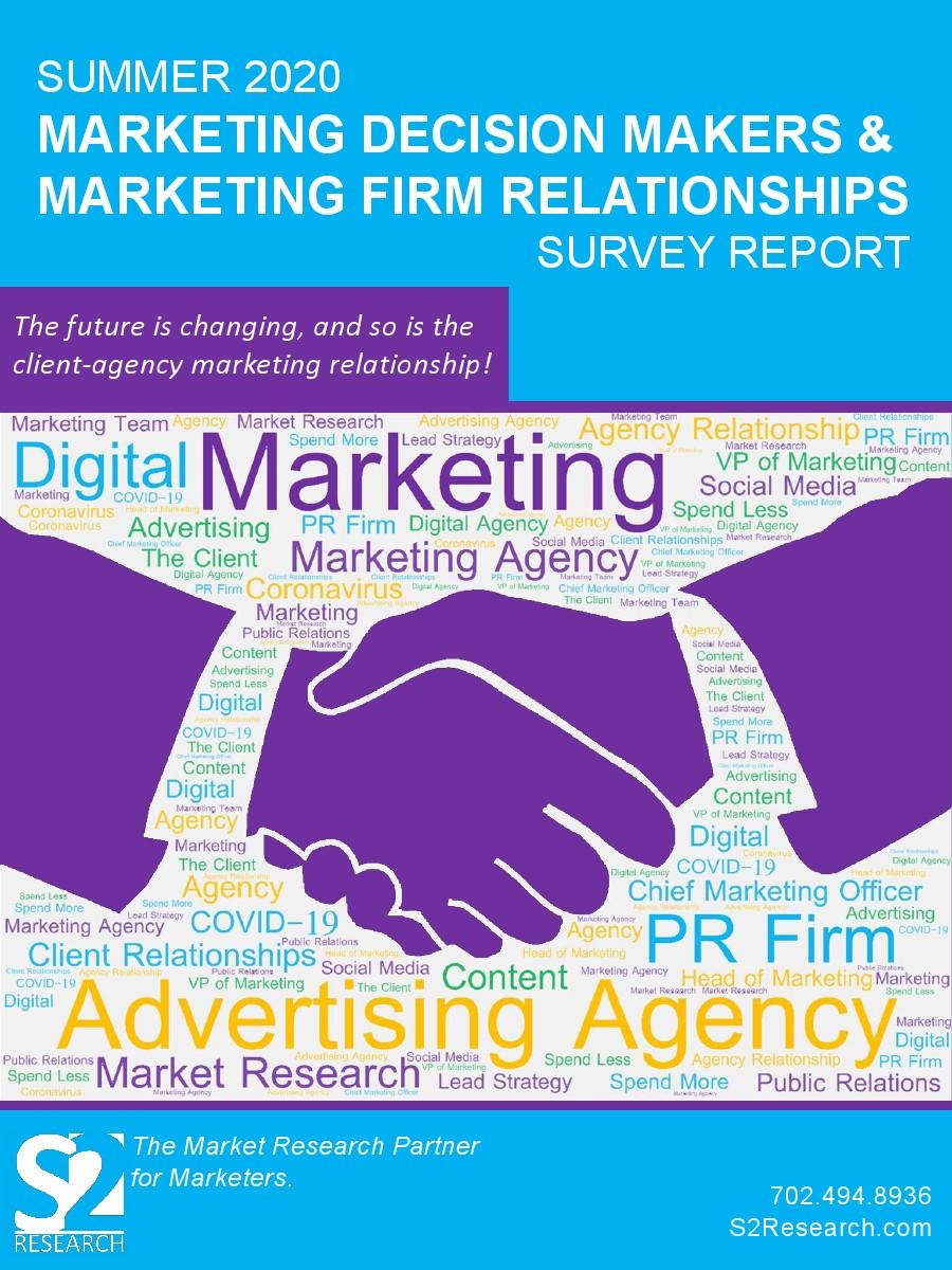 报告:营销决策者与营销公司的关系