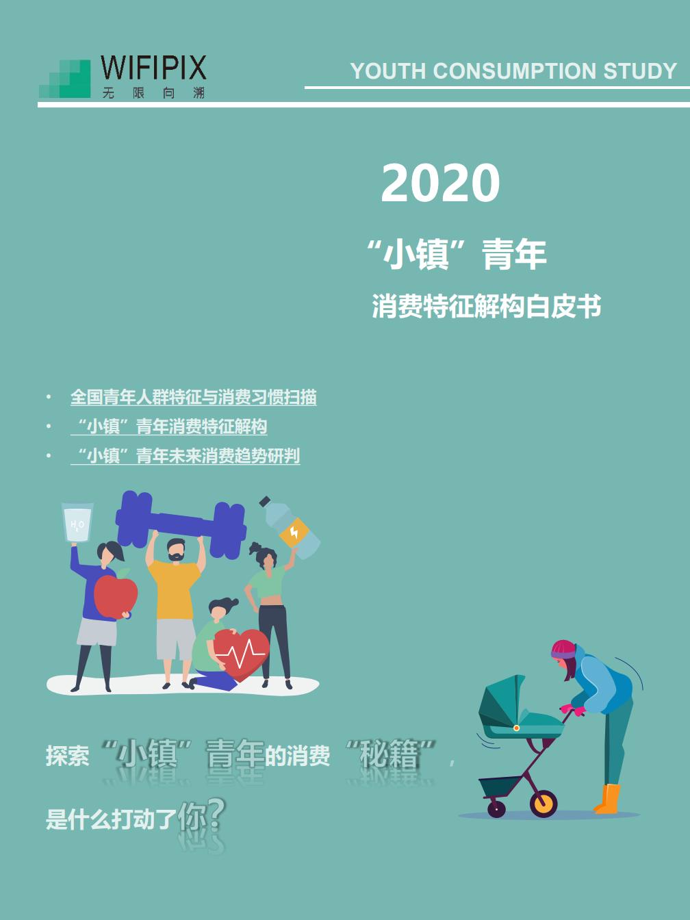 """WIFIPIX:2020""""小镇青年""""消费图鉴(附下载)"""