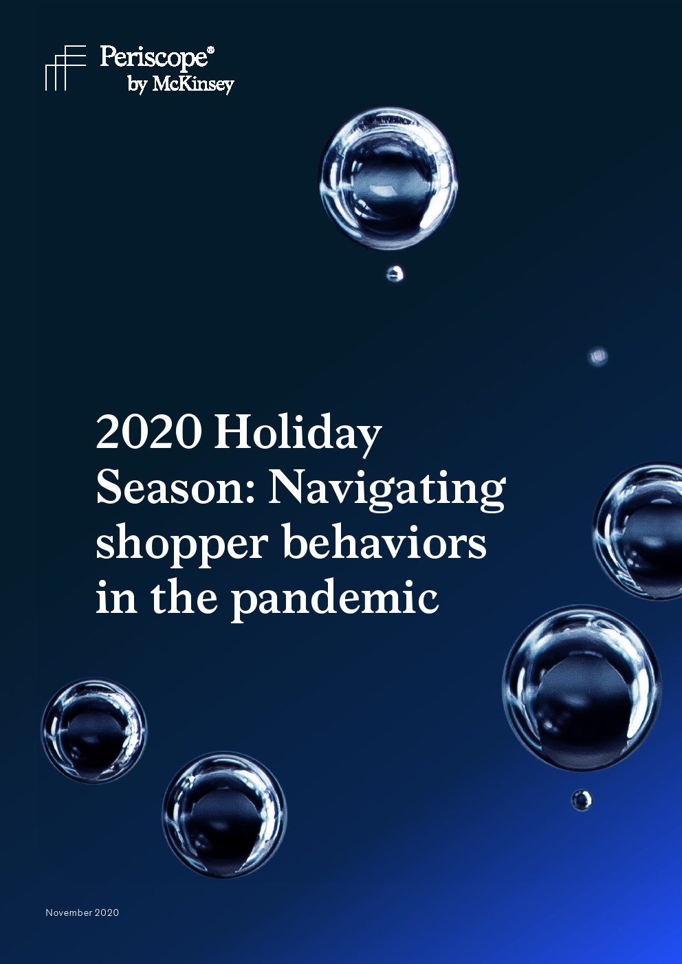 麦肯锡:2020年假日购物季报告