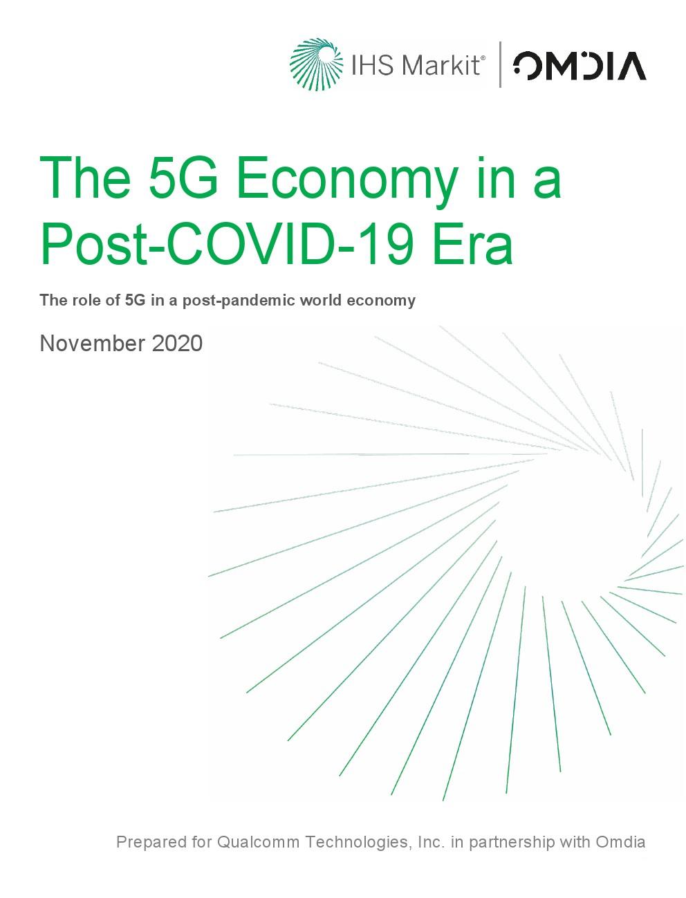 IHS Markit:后COVID-19时代的5G经济报告