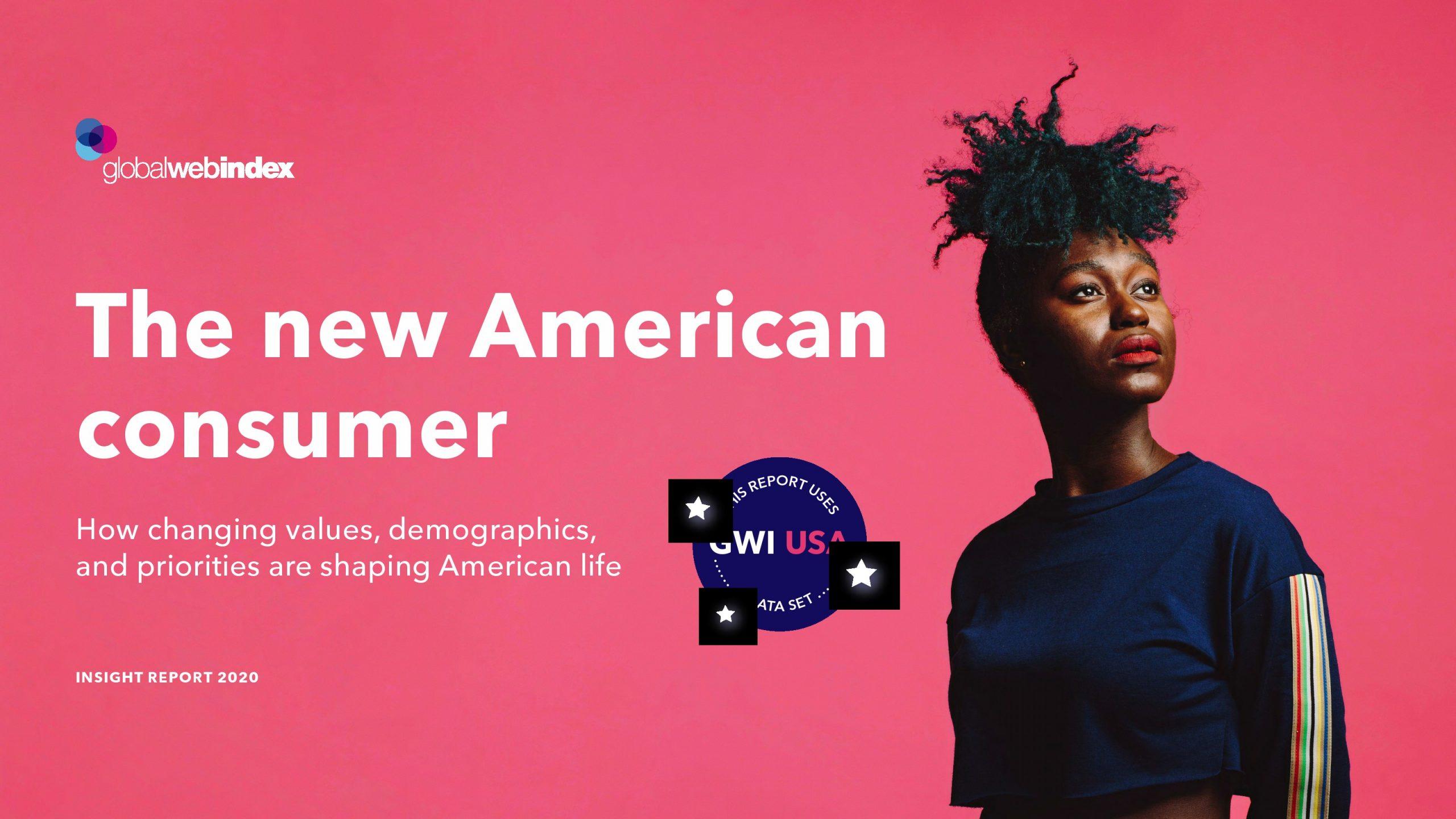 GWI:2020年新美国消费者报告