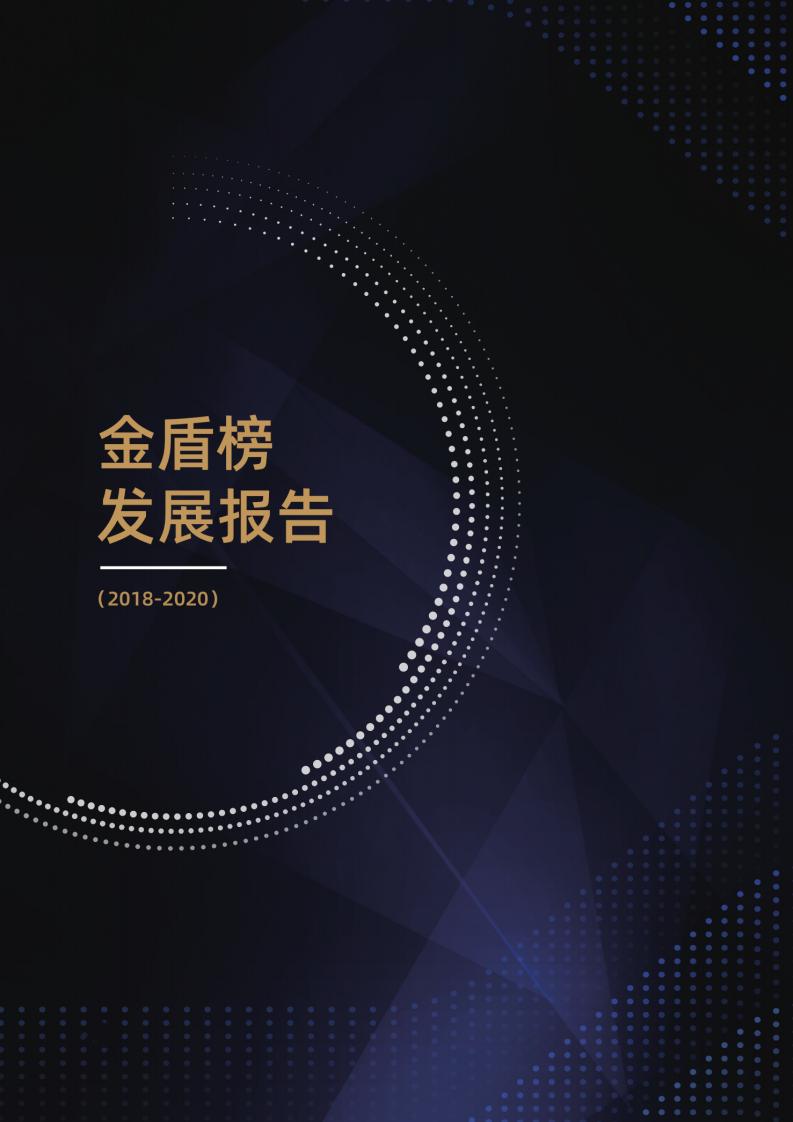 2018-2020年金盾榜发展报告