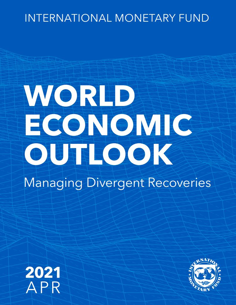 国际货币基金组织:2021年最新世界经济展望报告