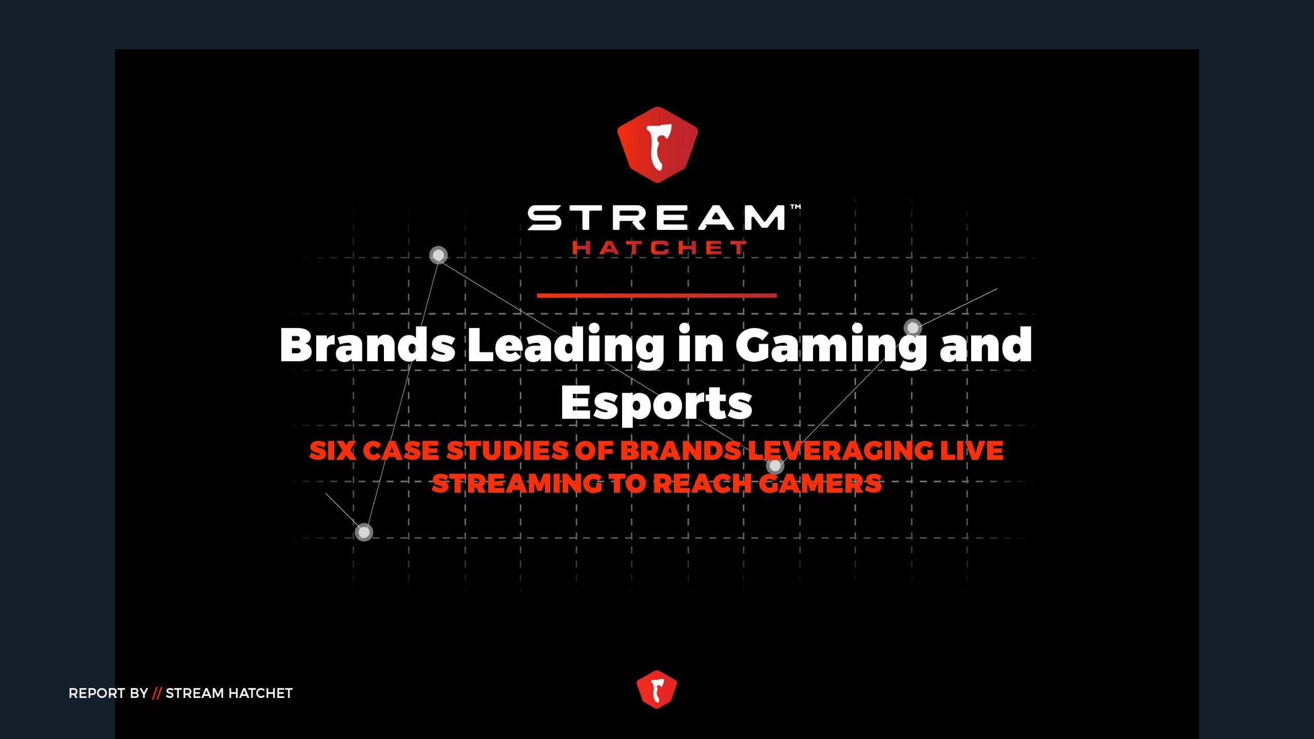 Stream Hatchet:2021年Q1游戏和电子竞技报告