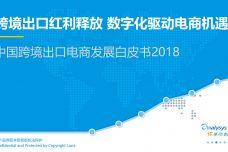 中国跨境出口电商发展白皮书2018_000001.jpg