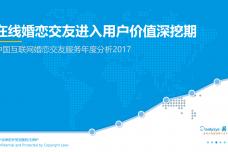 2017中国互联网婚恋交友服务年度分析_000001.png