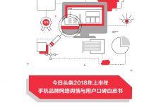 2018上半年手机品牌网络舆情与用户口碑白皮书_000001.jpg