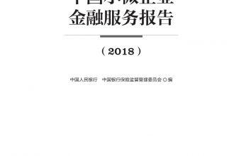 2018中国小微企业金融服务报告_000001.jpg