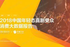 2018中国年轻态喜剧受众消费大数据报告_000001.jpg