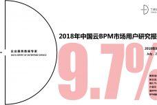 2018年中国云BPM市场用户研究报告_000001.jpg