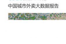 2018年年中国城市外卖大数据报告_000001.jpg
