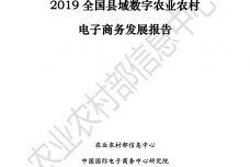 2019全国县域数字农业农村电子商务发展报告_000001.jpg